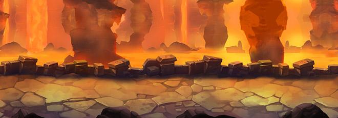 Zona de lava Gheena