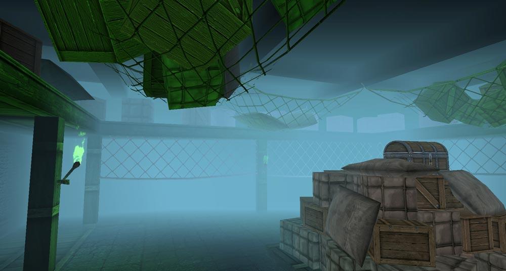 Underground warehouse of fear
