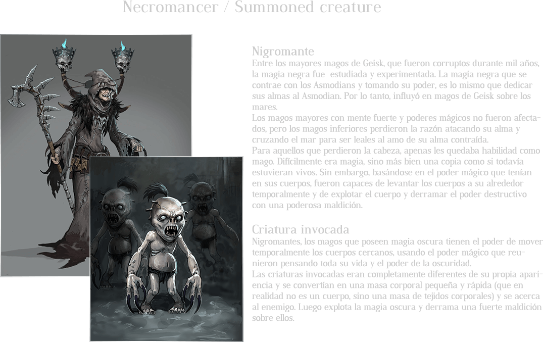 Necromancer / Summoned creature