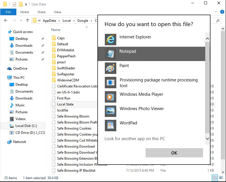 How do you want to open this file image